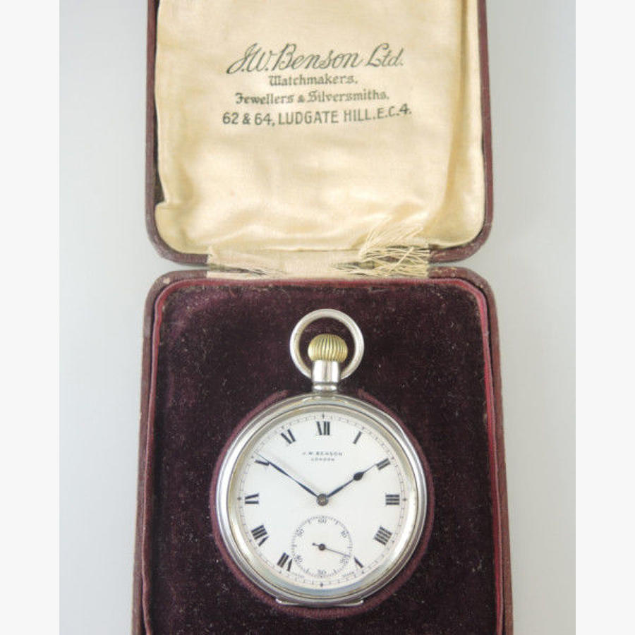 Antique Open Face Pocket Watches