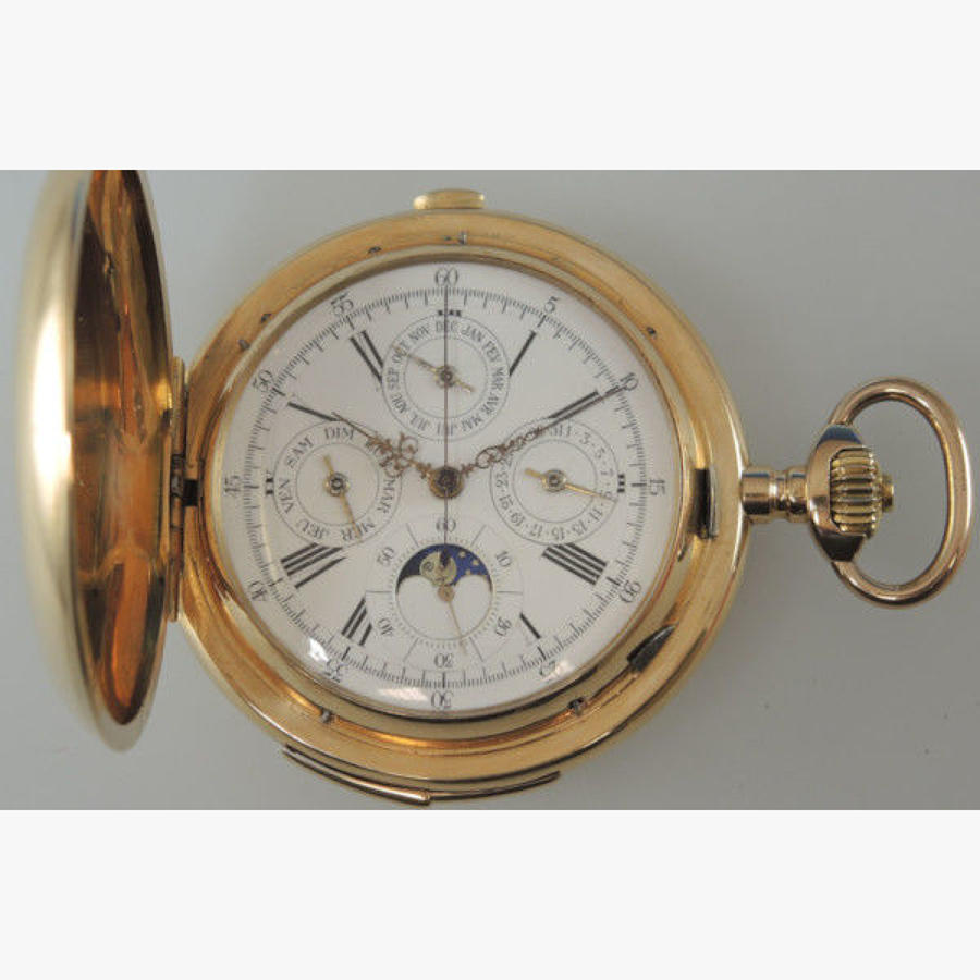 Complicated Pocket Watches