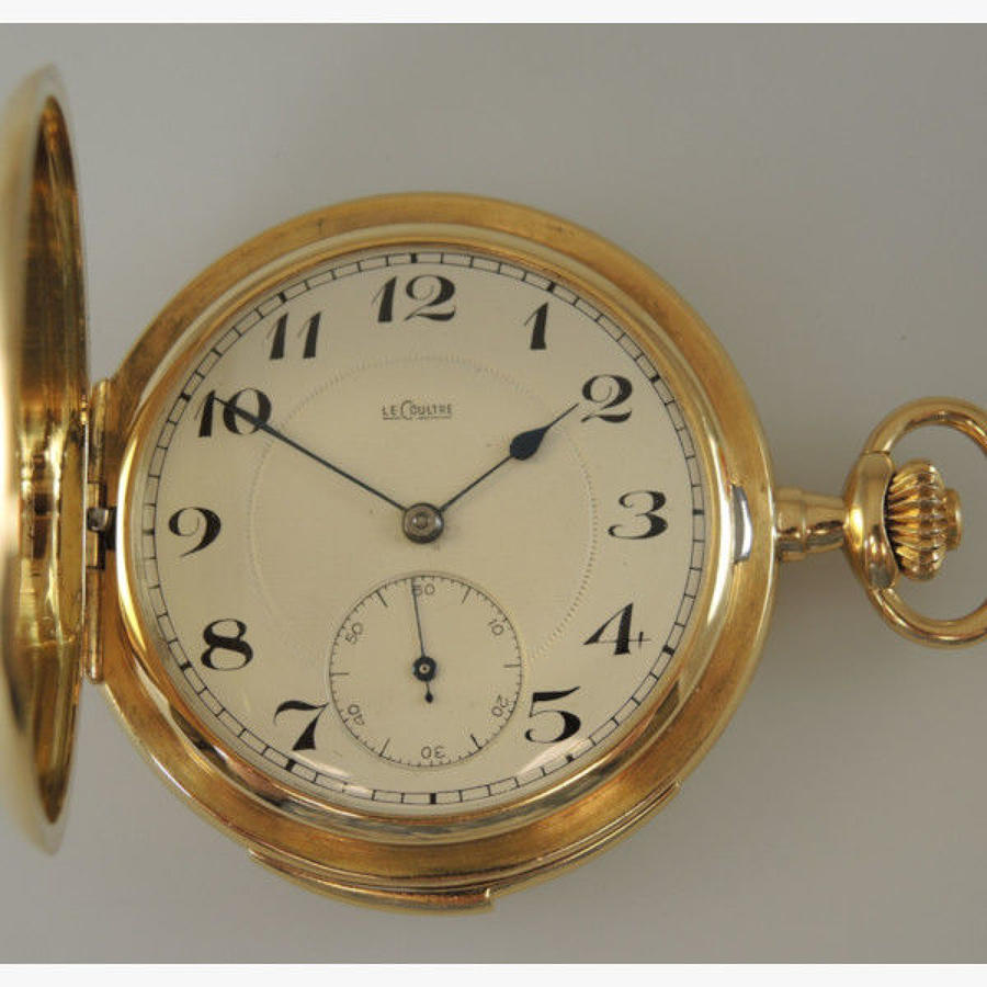 Gold repeater pocket watch