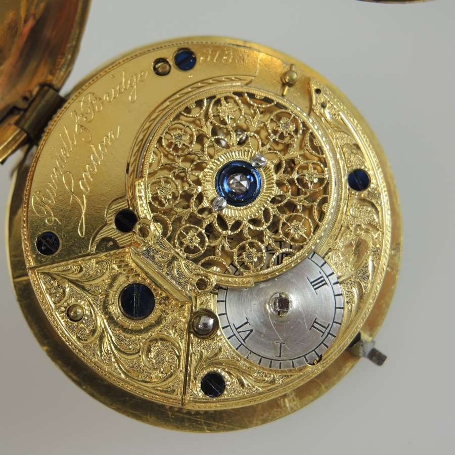 English pocket watch movements