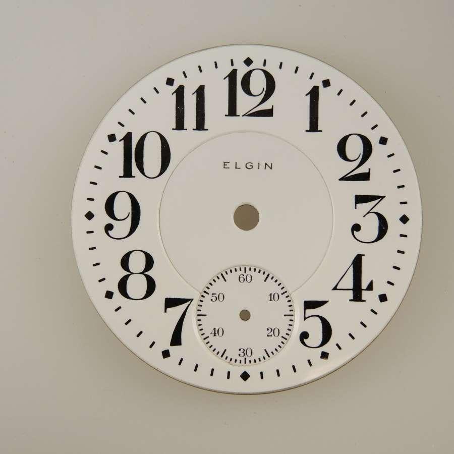 American pocket watch dials