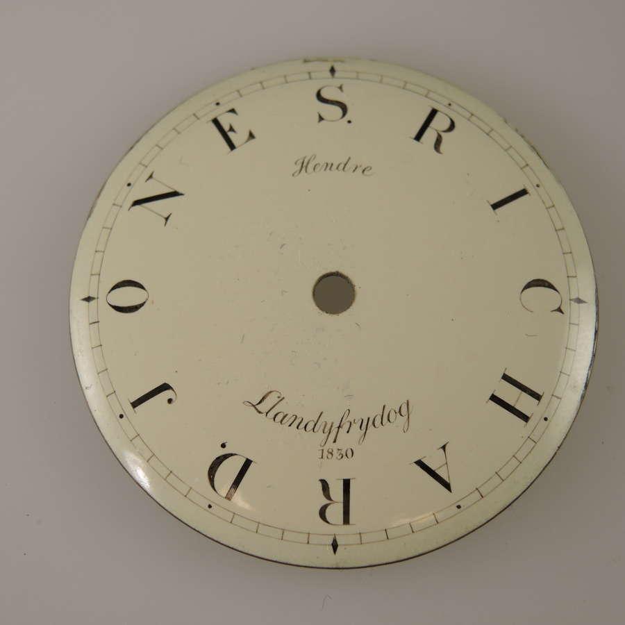 English pocket watch dials