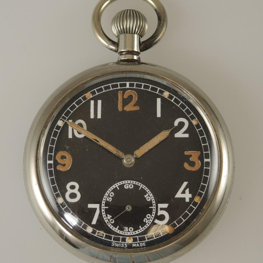 Military WWII Pocket Watch. c1940