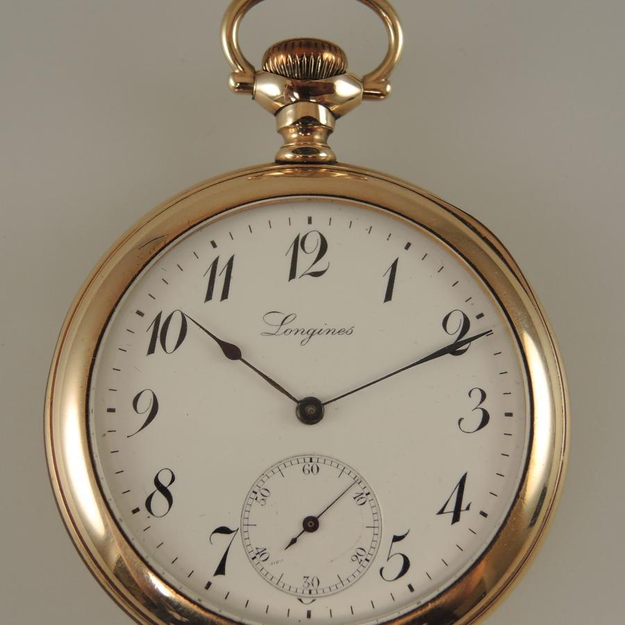 Longines 17 Jewel antique pocket Watch c1905