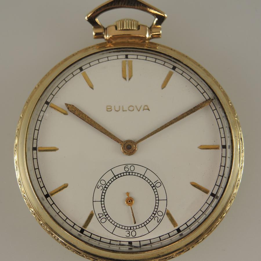 Bulova 21 Jewel vintage pocket watch c1920