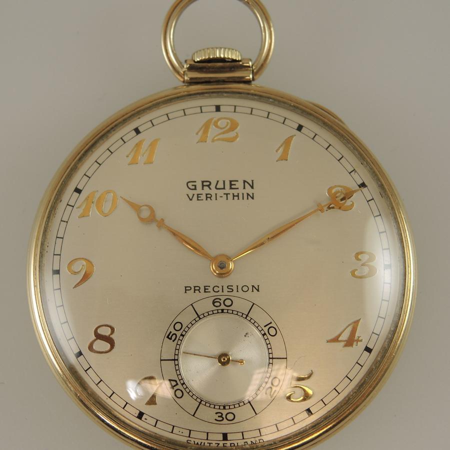 Gruen VERI-THIN pocket watch c1920