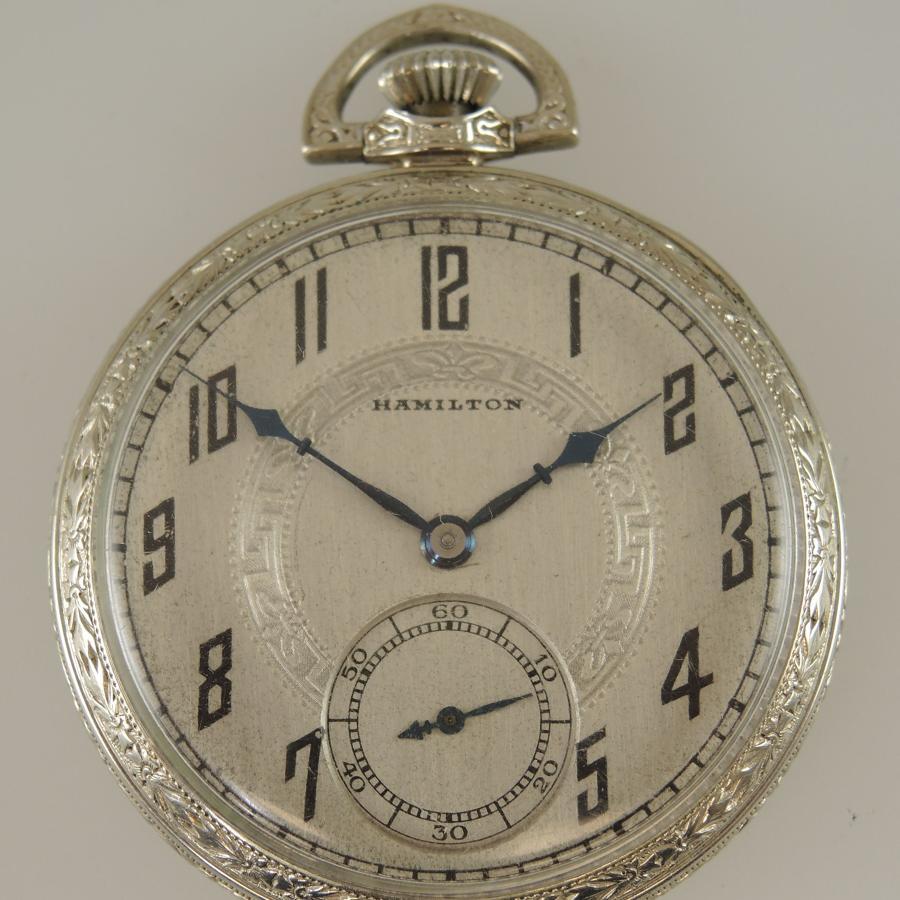 Hamilton 17 Jewel pocket watch c1939