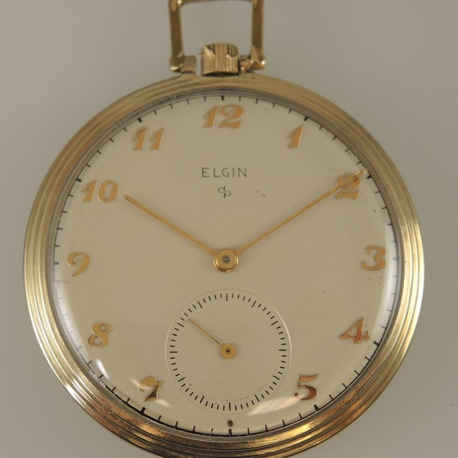 Vintage Elgin pocket watch c1947