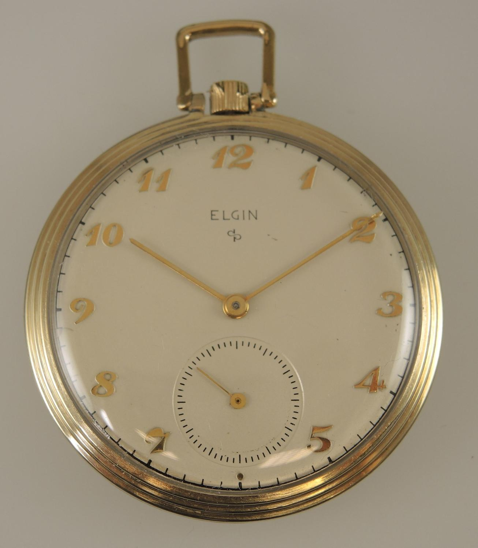 Vintage Elgin pocket watch c1947