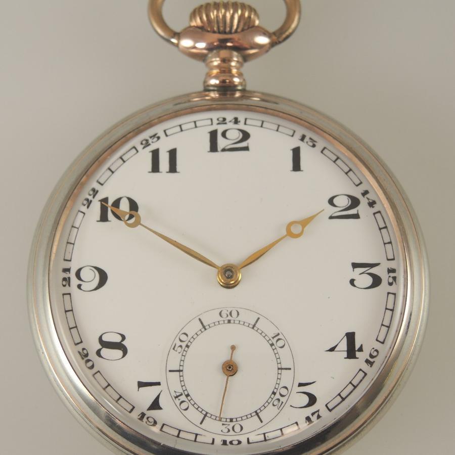 Vintage Silver pocket watch by Jungham c1925