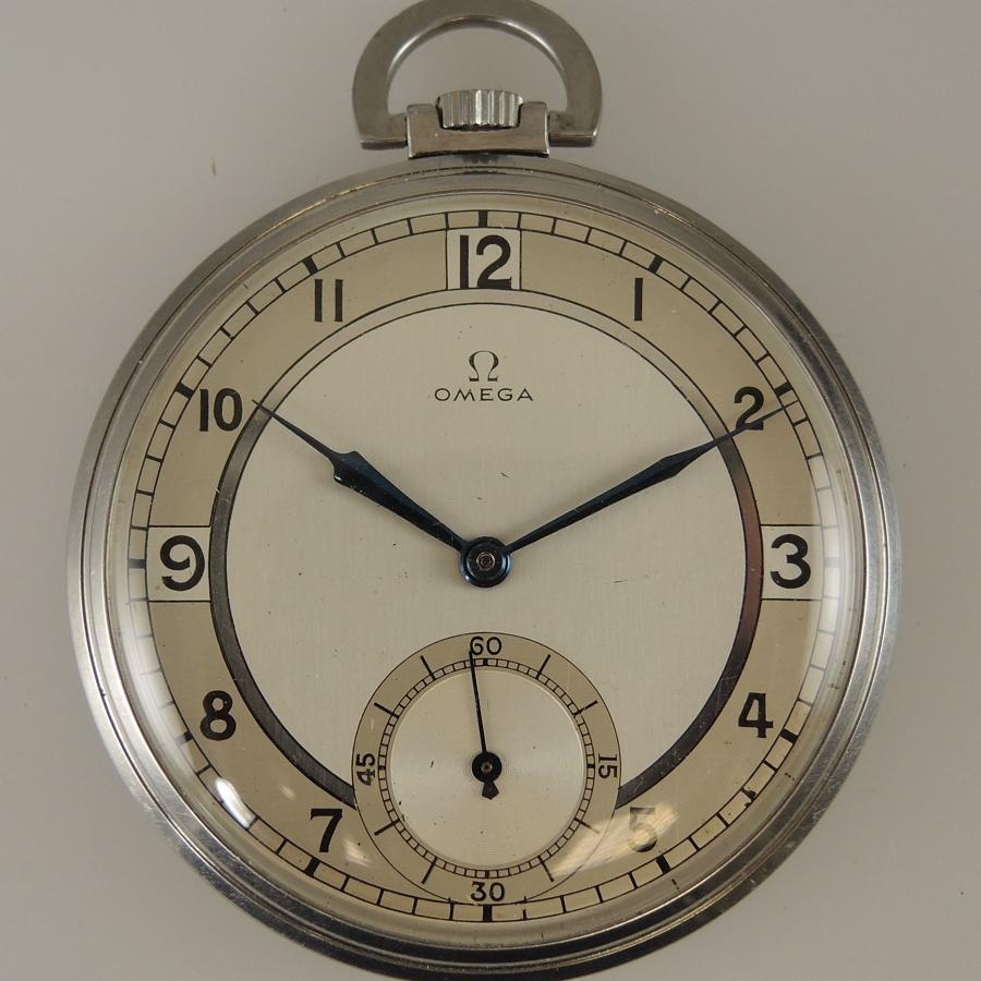 Vintage Omega pocket watch with Box c1938