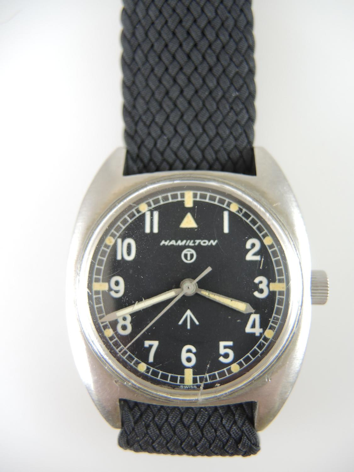 British Military Hamilton Wrist Watch c1975
