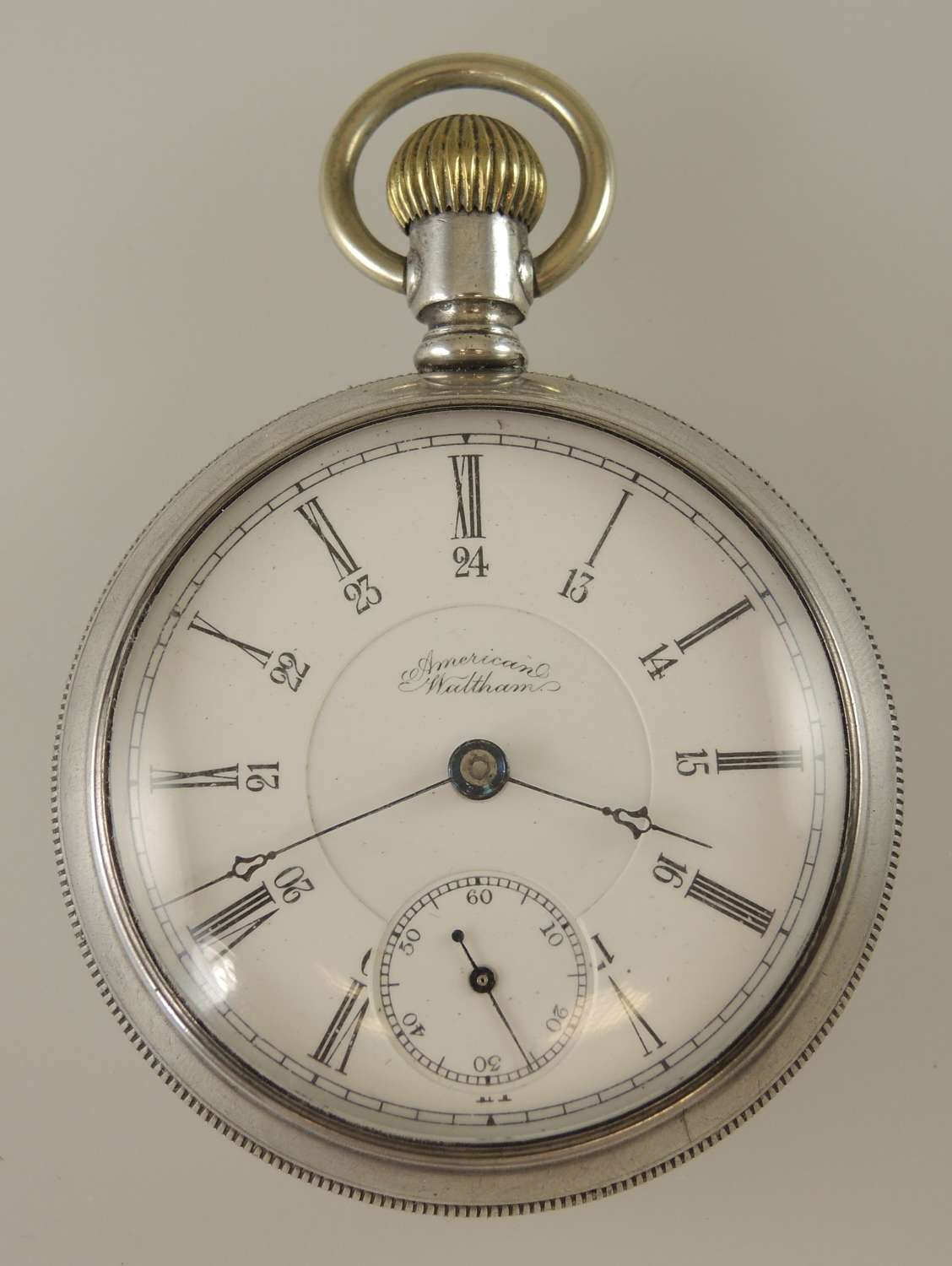 Rare Waltham pocket watch with Canadian military provenance c1891