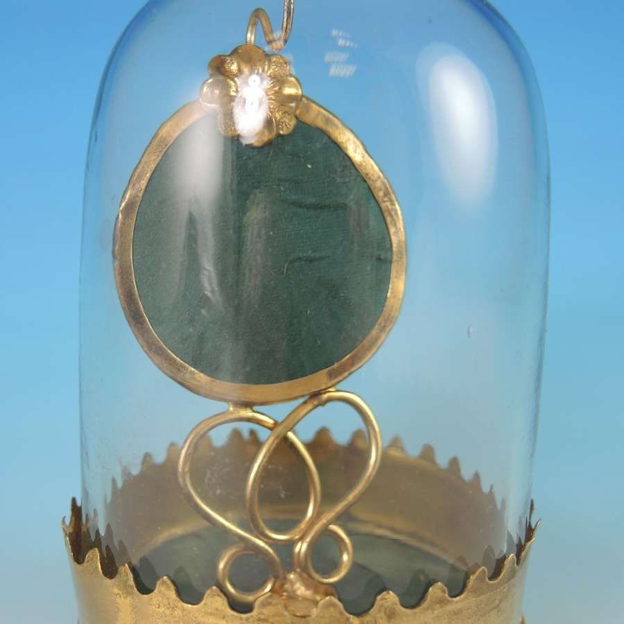 French Glass DOME Watch Stand c1830