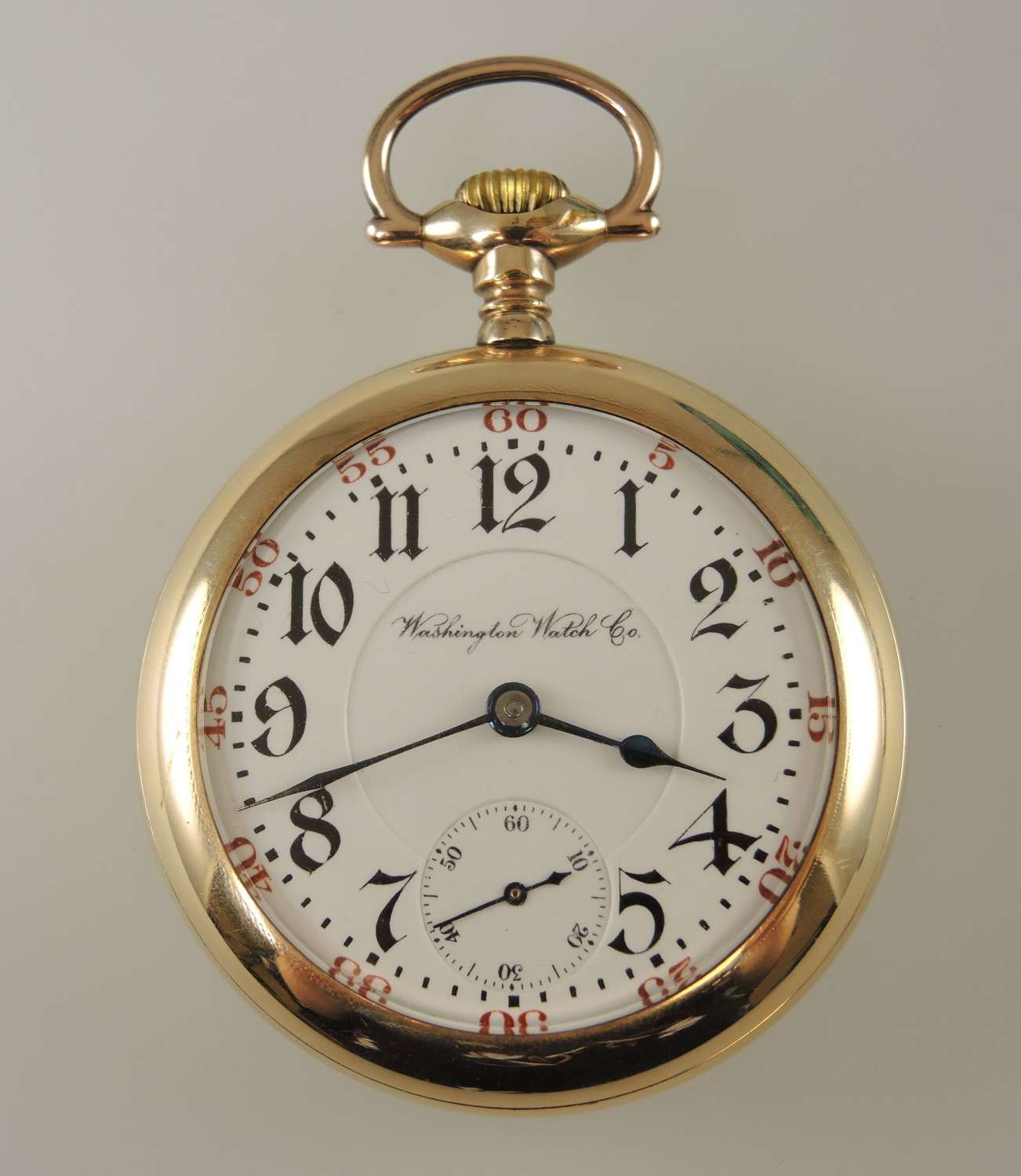 18s 21J Illinois Washington Watch Co pocket watch c1912