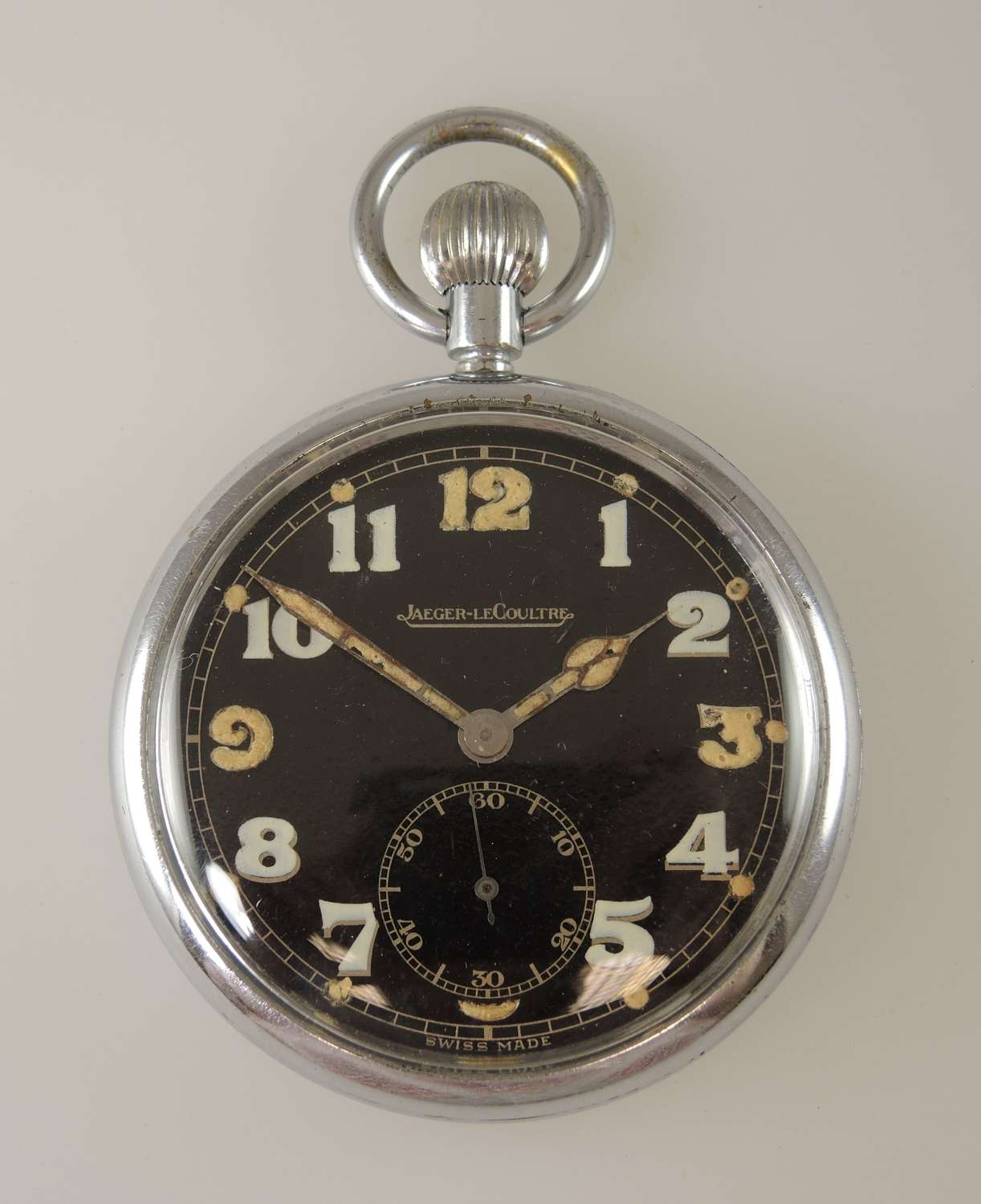 Jaeger-Le-Coultre military pocket watch c1940