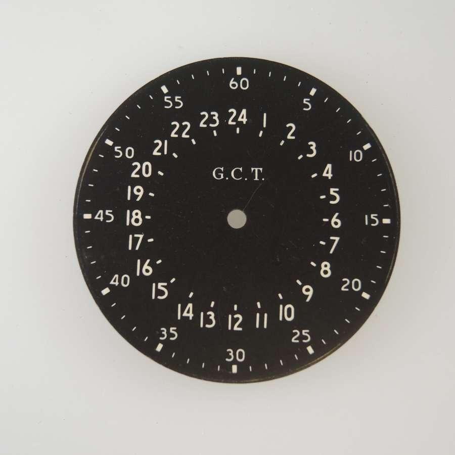 Hamilton 16s GCT 24 Hour dial