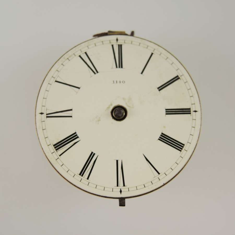 English verge fusee movement. Bennet, London c1830