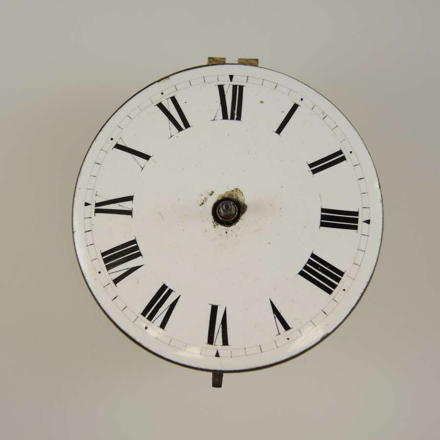 English verge fusee movement. Wright, Warwick c1810
