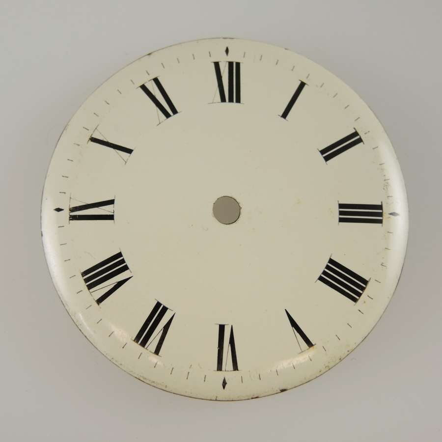 English Enamel dial c1810