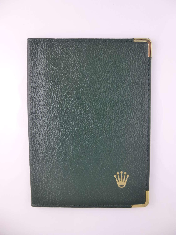 Genuine leather ROLEX Wallet c2000