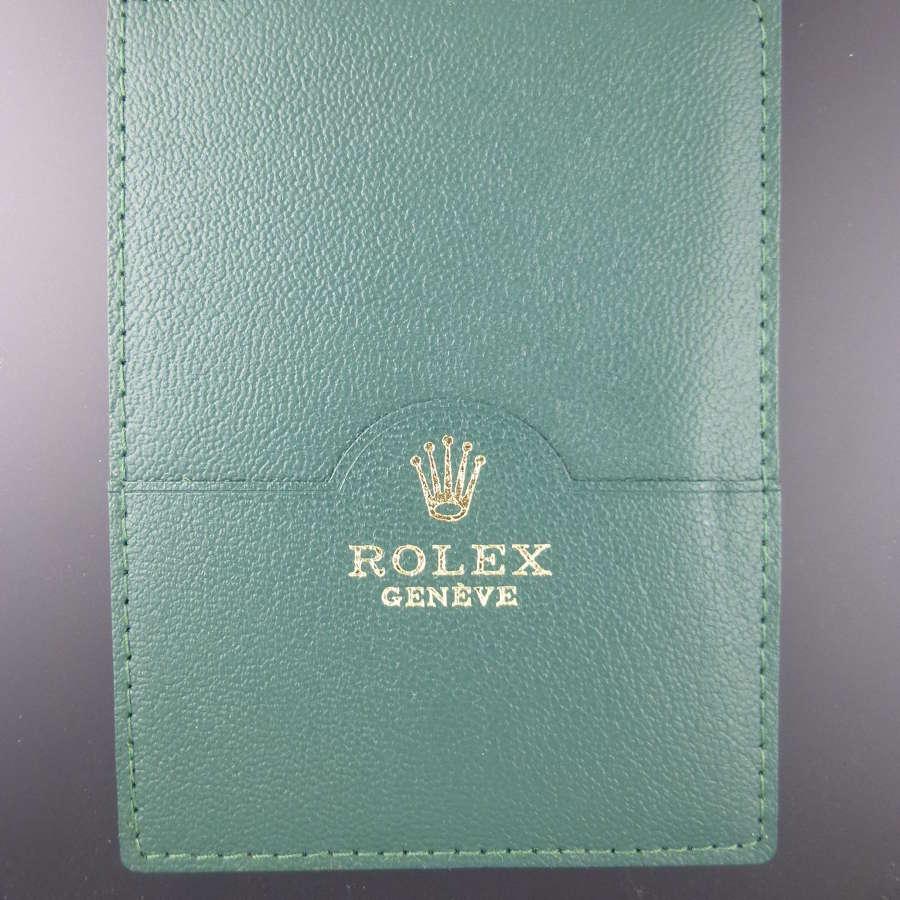 Genuine leather ROLEX Certificate holder c2000