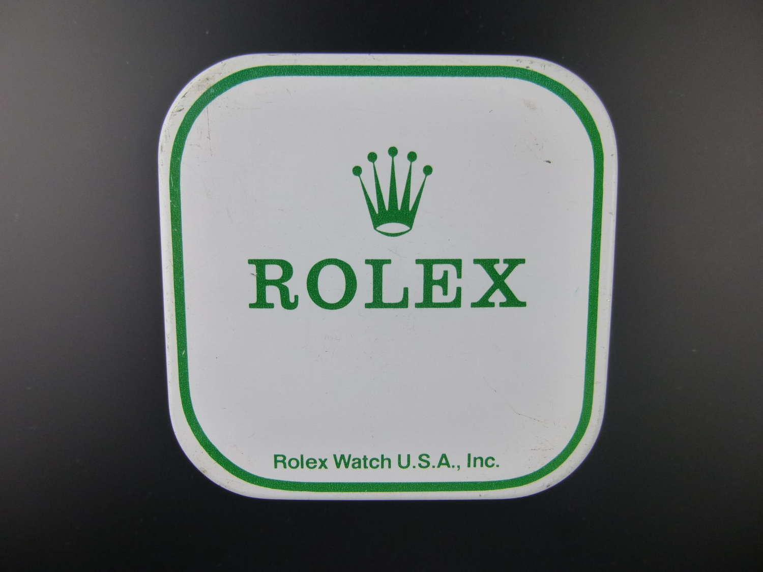 Genuine ROLEX tin for parts and movements c.1960-70