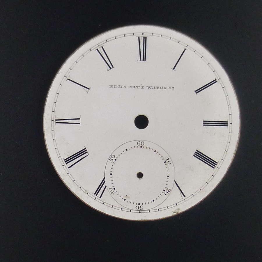 18s Elgin Nat'l Watch co dial