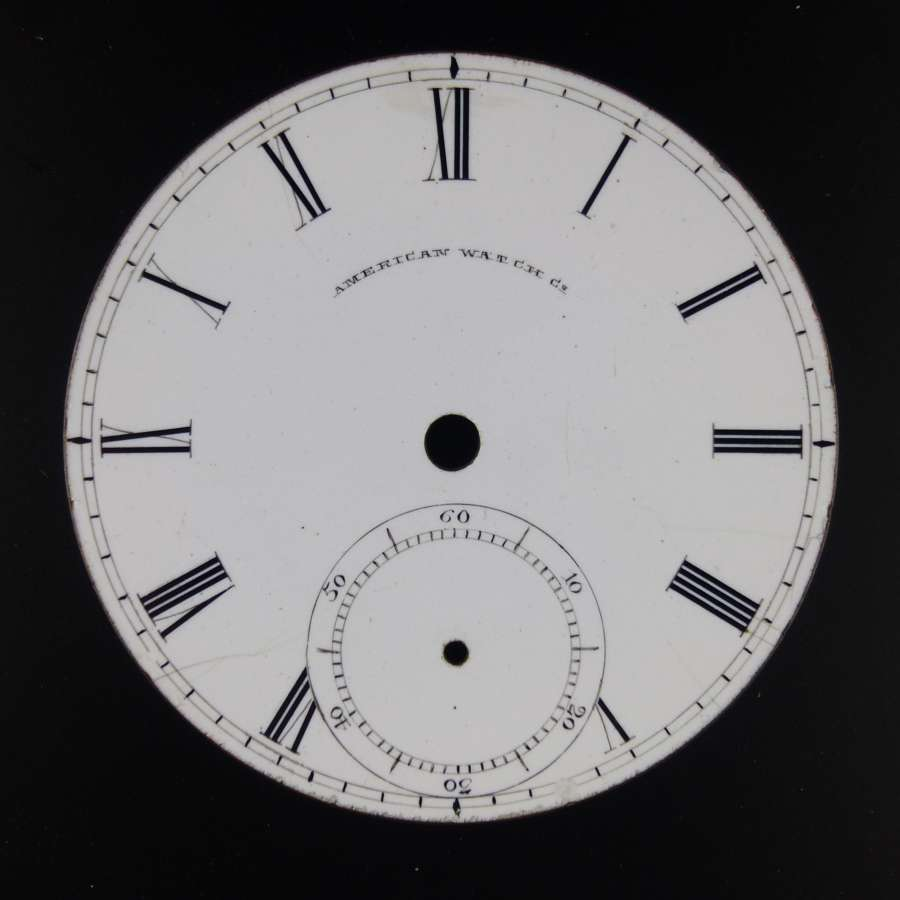 18s early American Watch Co dial