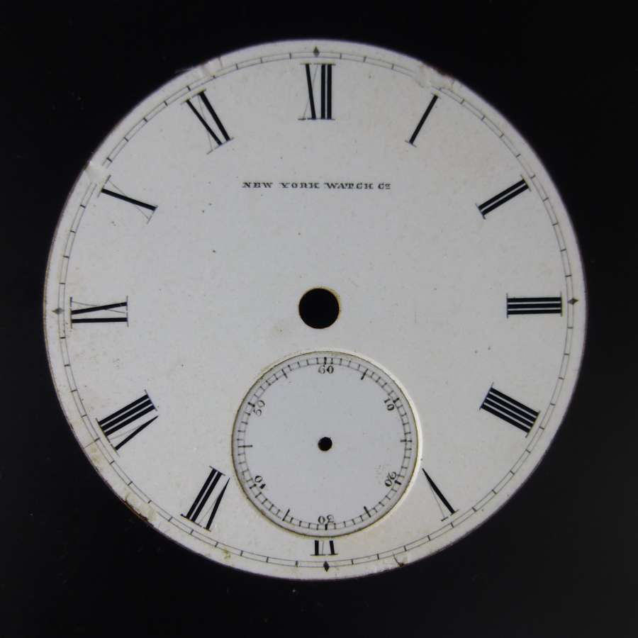 18s New York Watch Co dial