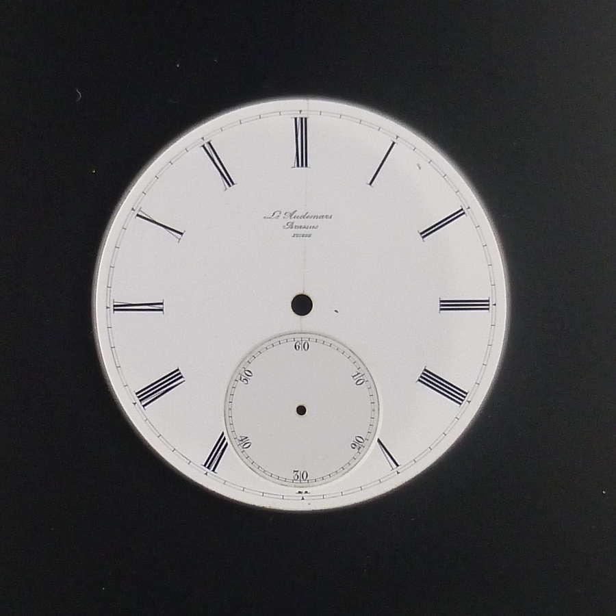 Co Audemars Brassus Suisse dial