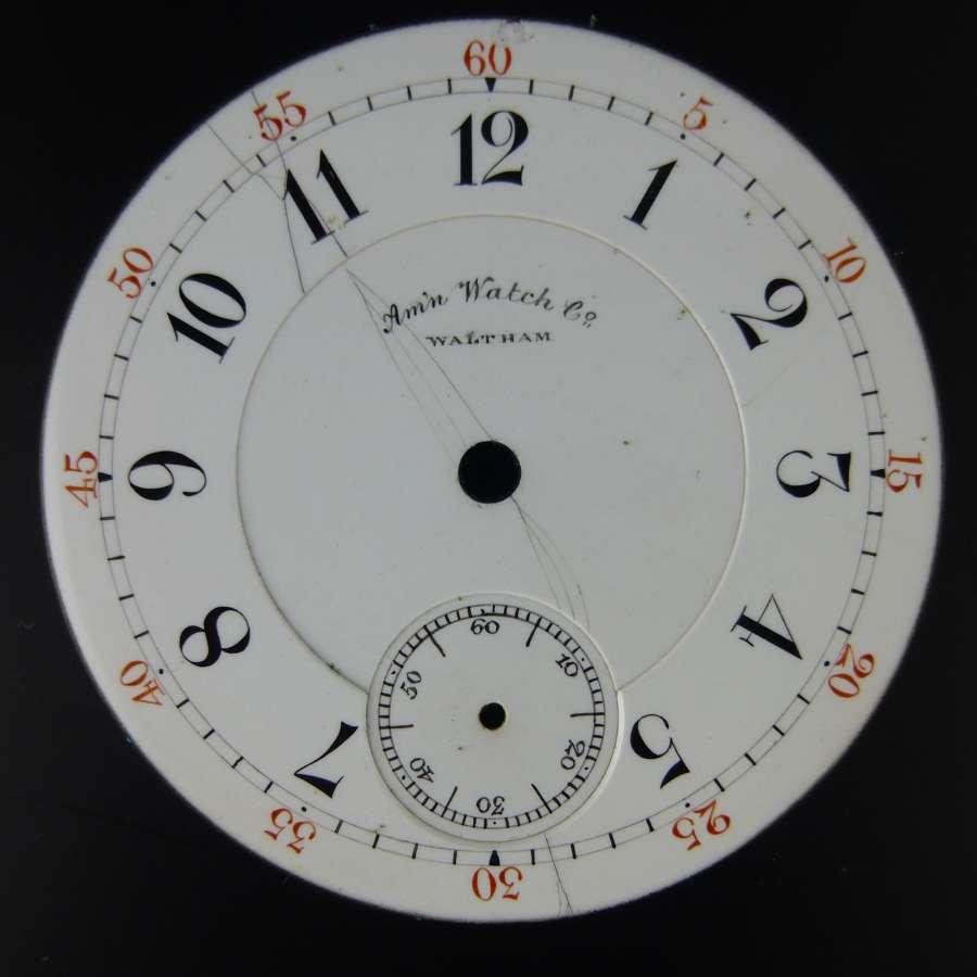 18s Am'n Watch Co, Waltham dial