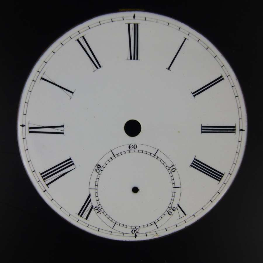 English dial with brass dial plate c1880