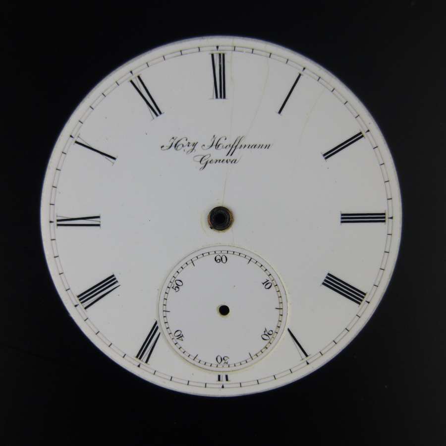 Hry Hoffmann Geneva dial
