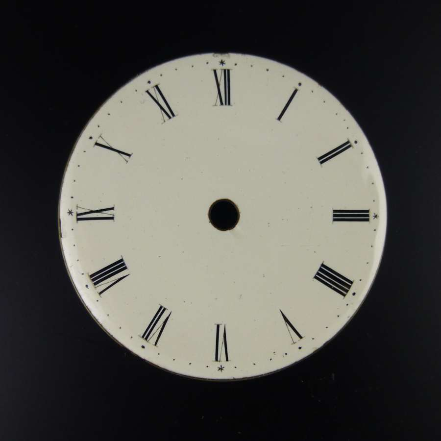English VERGE enamel dial c1830