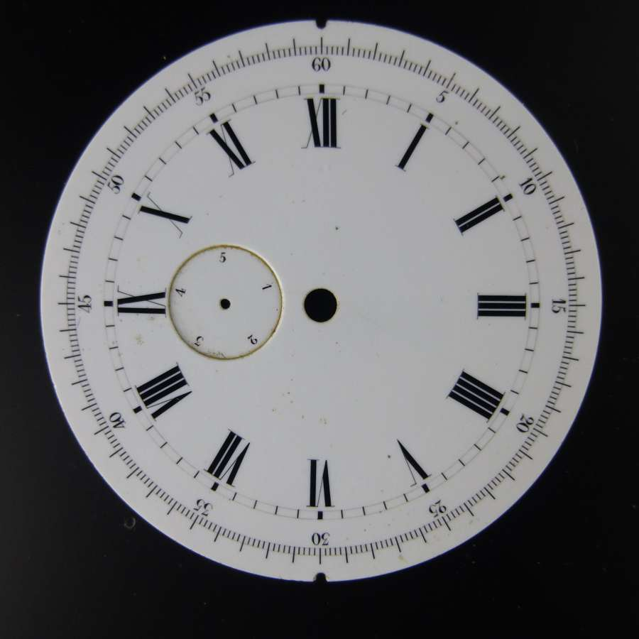 Rare Swiss Fifth Jumping seconds dial c1880