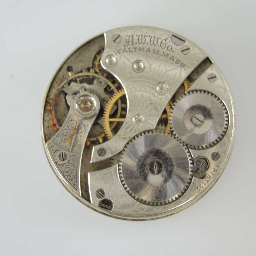 16s 7J Waltham movement c1913