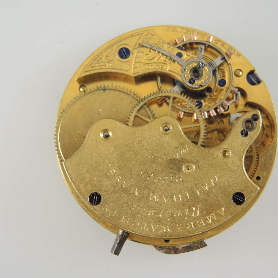 Ladies 8s 11J Waltham movement c1873