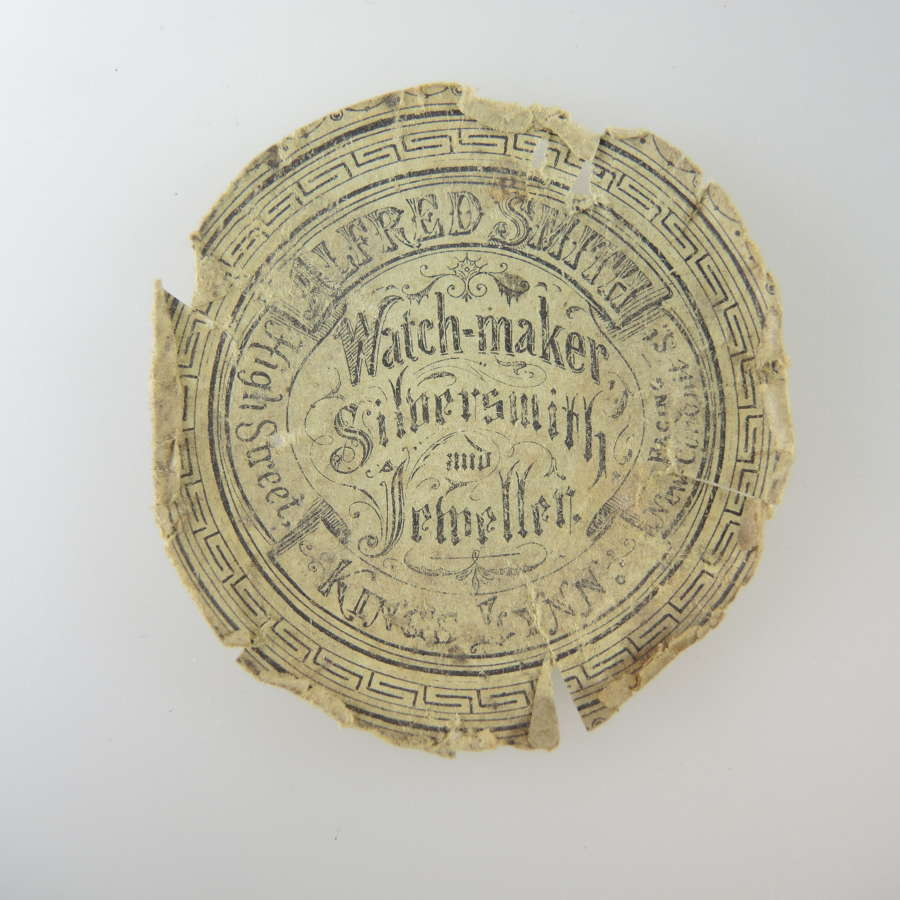 English advertising watch paper.c1920