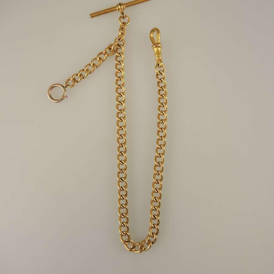 Victorian pocket watch chain c1890