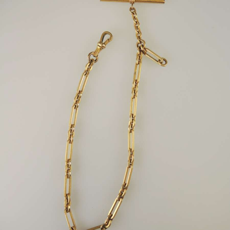 Exceptional Victorian pocket watch chain c1890