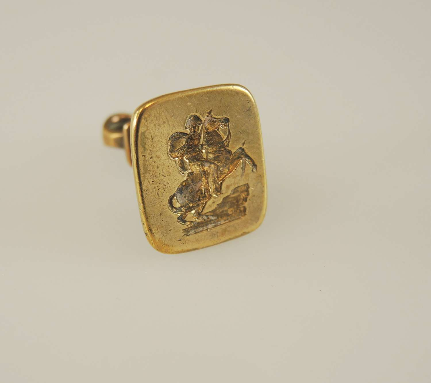 Gilt metal NAPOLEON Seal c1840