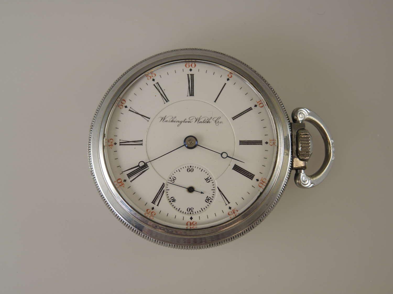 18s 17J Illinois Washington Watch Co Senate pocket watch c1904