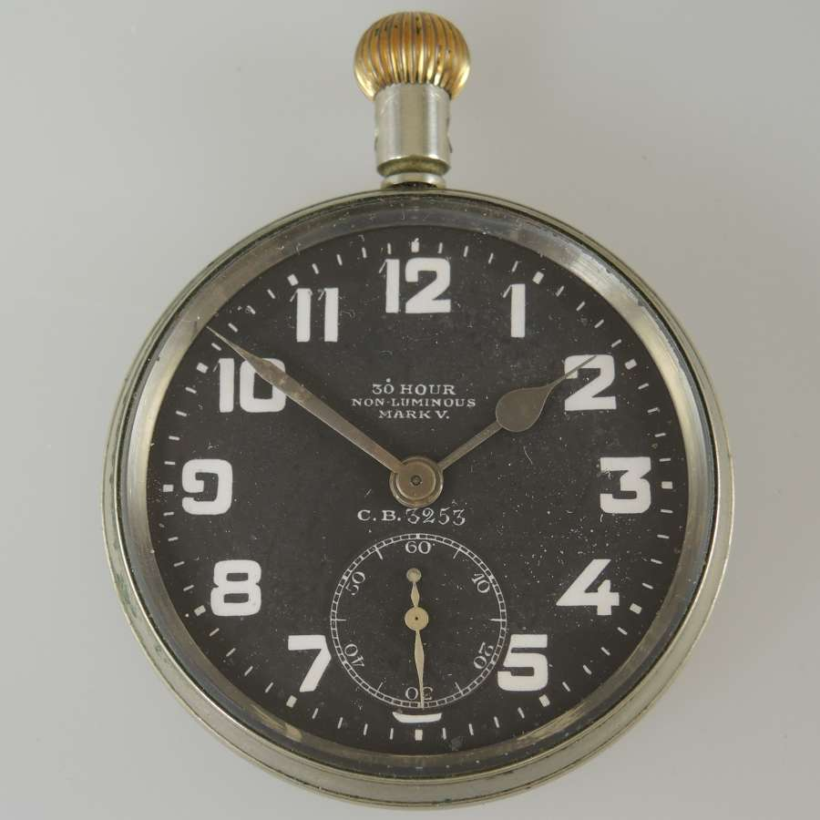 First World War Zenith Royal Flying Corps pocket watch c1914