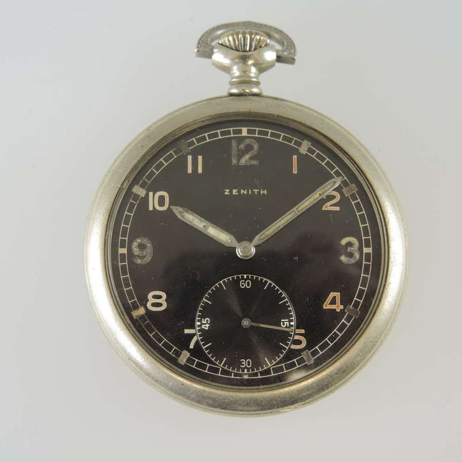 German military army issue pocket watch by Zenith c1944