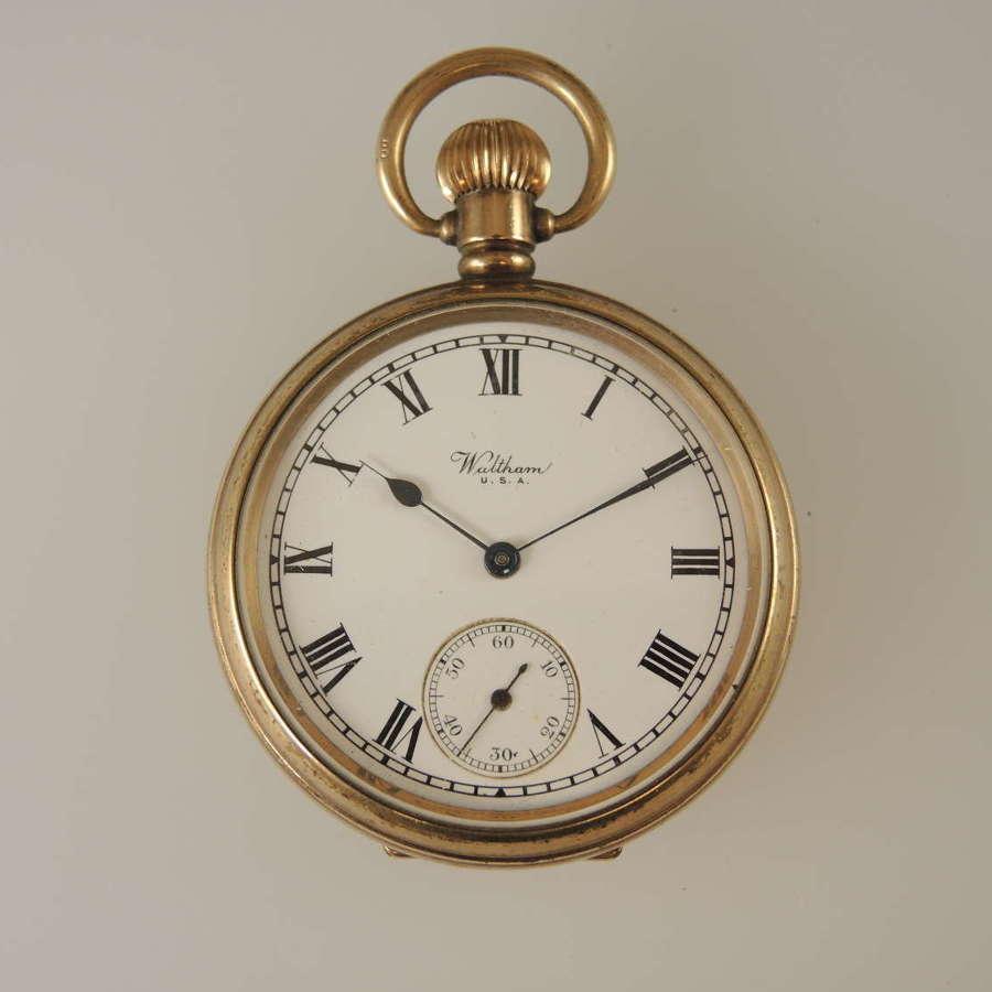 Vintage Waltham pocket Watch c1936