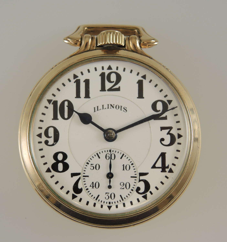 Rare 16s 21J Illinois Bunn Special 60 Hour 161A Elinvar  c1931