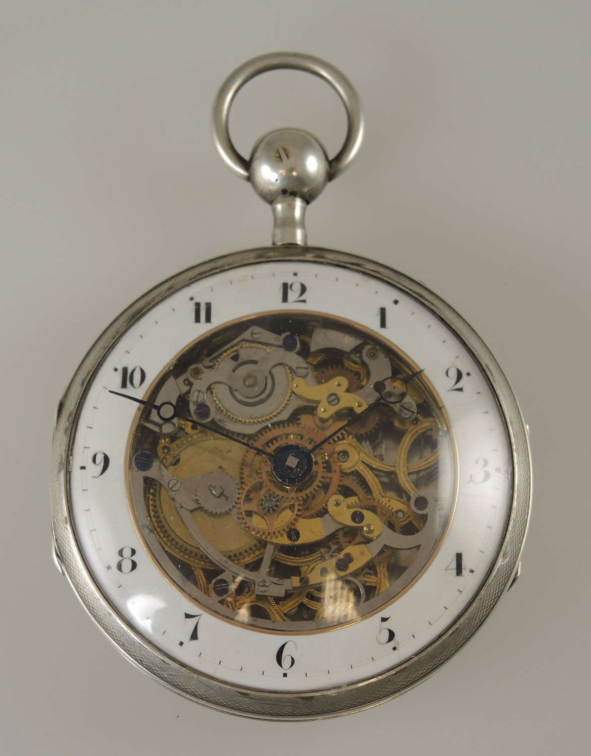 Superb Skeletonized Repeater pocket watch c1820