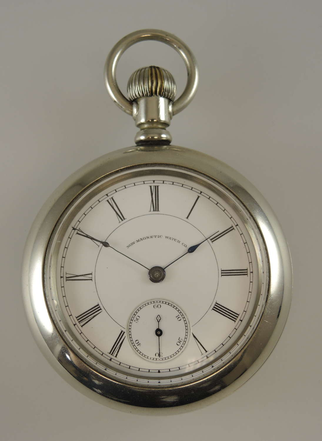 18s 15J Non Magnetic Watch Co. Peoria pocket watch c1890