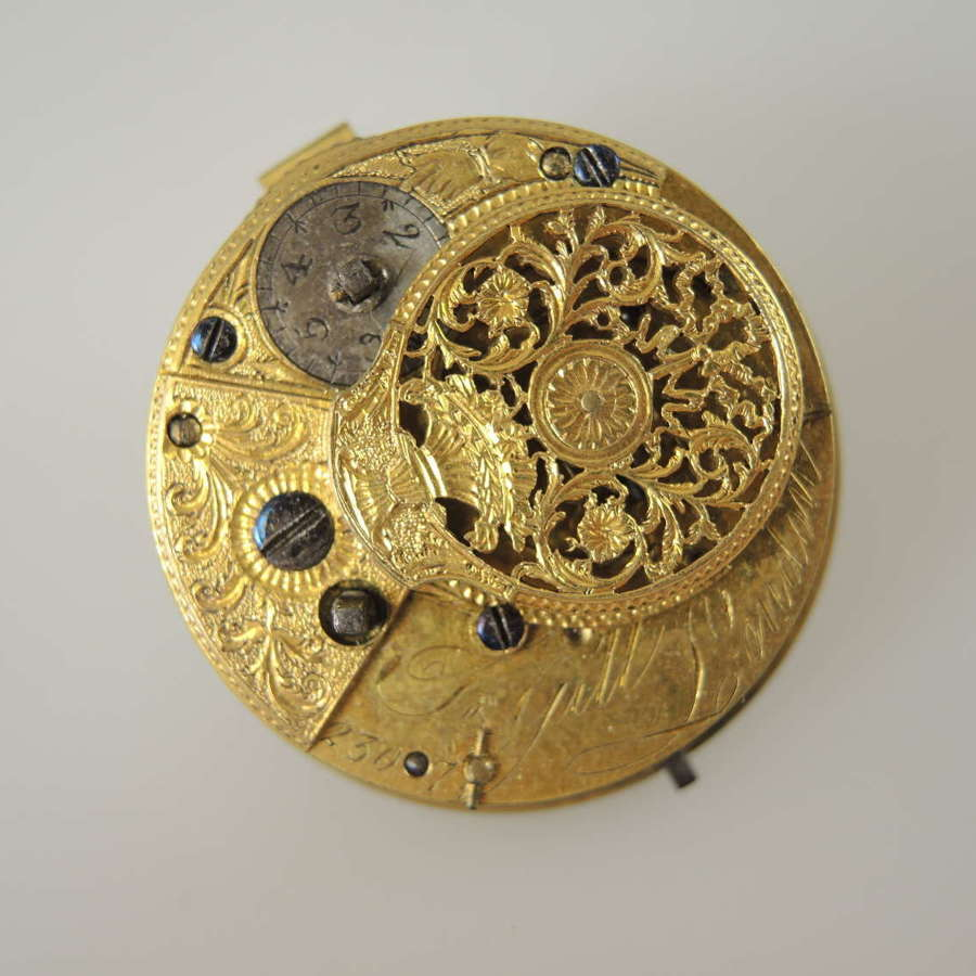 English verge movement by Gill c1810